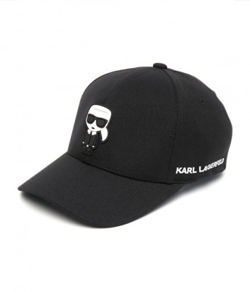 Бейсболка KARL LAGERFELD Ikonik 805610 511118 черная