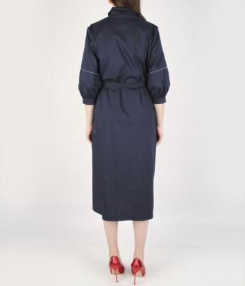 Платье-рубашка D.EXTERIOR 52532 черное