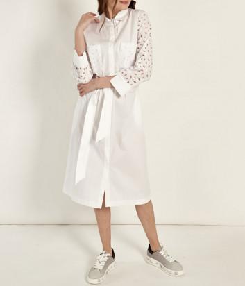 Платье-рубашка D.EXTERIOR 52685 белое