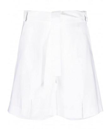 Льняные шорты D.EXTERIOR 52551 (в наличии в белом и бежевом цветах)