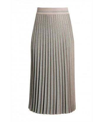 Плиссированная юбка D.EXTERIOR 51682 цвета тиффани