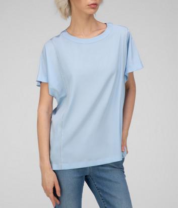 Блуза PESERICO 61S06929 голубая