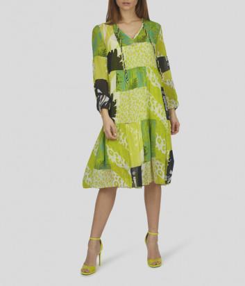 Платье SPORTALM 9515533790 зеленый принт
