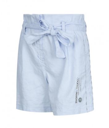 Льняные шорты SPORTALM 9517008077 голубые