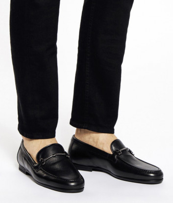 Кожаные туфли FABI 9873 черные