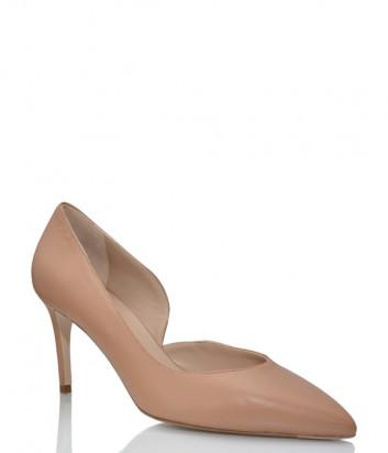Кожаные туфли GIORGIO FABIANI 211026 бежевые