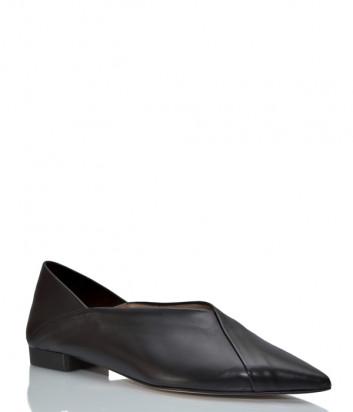 Кожаные туфли GIORGIO FABIANI 211009 черные