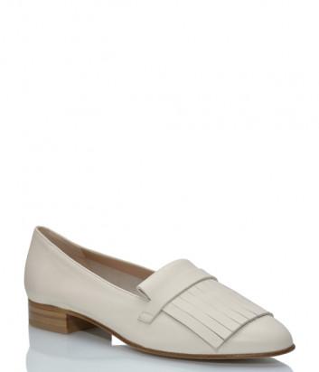 Кожаные туфли GIORGIO FABIANI 211020 молочные