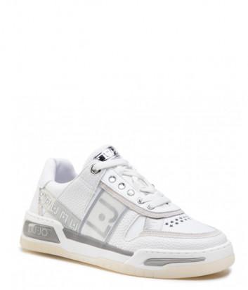 Кожаные кроссовки LIU JO Gyn 05 BA1043 EX086 белые