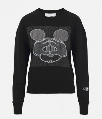 Свитшот ICEBERG I2P0E0916306 Mickey Mouse (в наличии в черном и белом цветах)