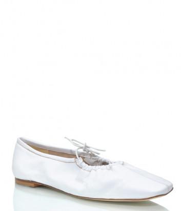 Кожаные туфли FABIO RUSCONI 5822 белые