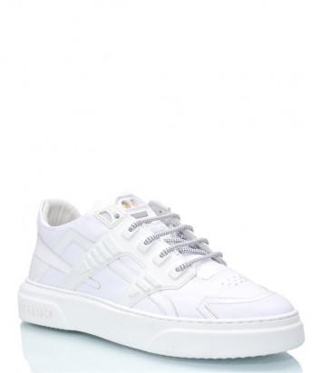 Кожаные кроссовки HIDE & JACK 1WHTWHTWHT белые