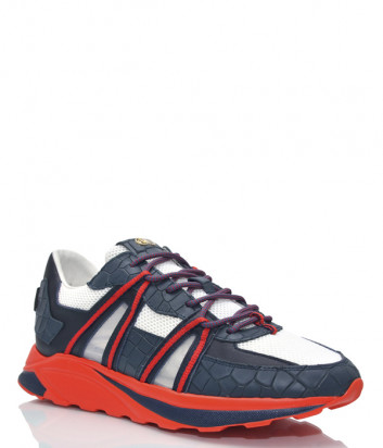 Комбинированные кроссовки HIDE & JACK JETMBLURED сине-красные