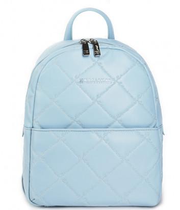 Рюкзак ERMANNO Ermanno Scervino 12401174 из мягкой стеганой экокожи нежно-голубой