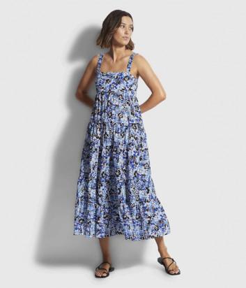 Длинное платье SEAFOLLY 54254-DR цветочный принт