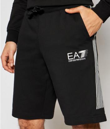 Спортивные шорты EA7 EMPORIO ARMANI 3KPS67 PJ05Z черные