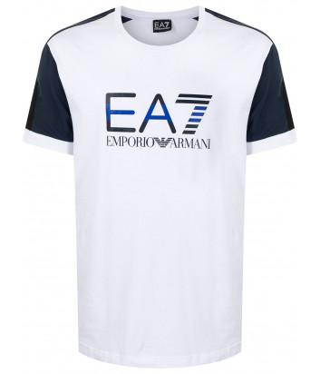 Футболка EA7 EMPORIO ARMANI 3KPT68 PJ5MZ белая с логотипом