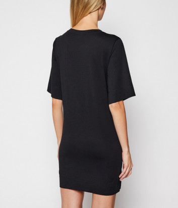 Платье EMPORIO ARMANI 262676 1P340 черное с логотипом