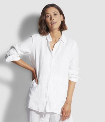 Льняная рубашка Seafolly 54247-TO белая