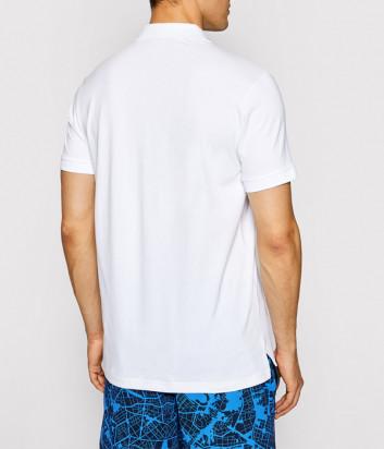 Мужское поло EMPORIO ARMANI 211804 1P461 белое