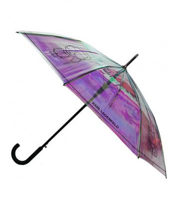 Зонт KARL LAGERFELD Ikonik 211W3906 перламутровый