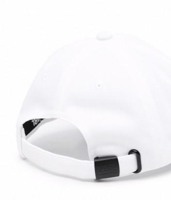 Бейсболка KARL LAGERFELD 805615 511120 белая с логотипом