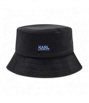 Панама KARL LAGERFELD 805600 511124 черная с серебристым лого