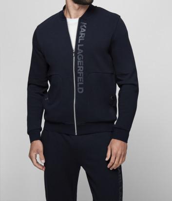 Спортивный костюм KARL LAGERFELD 705012 511900 синий с логотипом