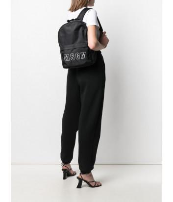 Рюкзак MSGM 3041MDZ33077 с внешним карманом черный