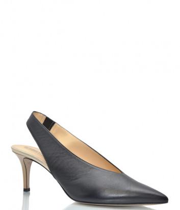 Кожаные босоножки FABIO RUSCONI Lupin черные