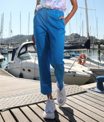 Укороченные брюки ICE PLAY B061 P540 синие