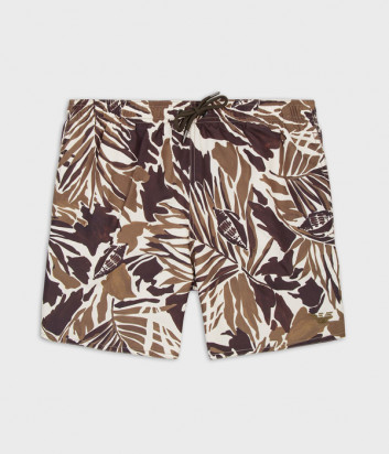 Плавки-шорты EMPORIO ARMANI 211740 1P441 коричневый принт