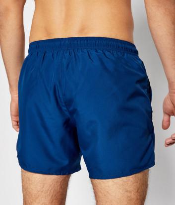 Плавки-шорты EMPORIO ARMANI 211752 1P438 синие с логотипом