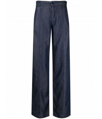 Широкие джинсы KARL LAGERFELD 215W1102 синие