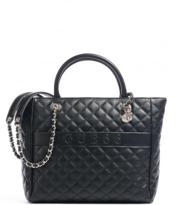 Стеганная сумка GUESS Illy Elite HWVG7970230 черная