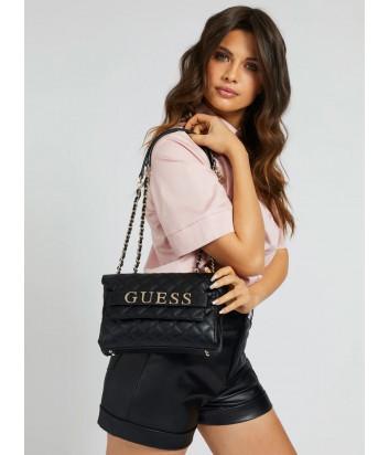 Стеганная сумка GUESS Illy Convertibe HWVG7970210 черная
