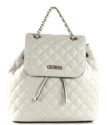Стеганный рюкзак GUESS Illy HWVG7970320 кремовый