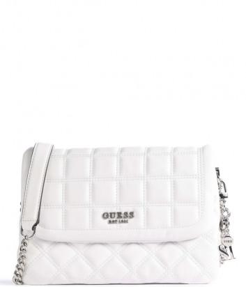 Стеганная сумка GUESS Kamina HWVY8111200 белая