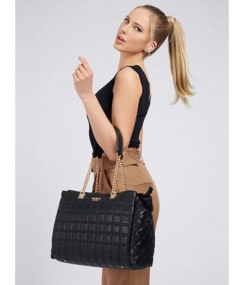 Стеганная сумка GUESS Kamina HWVS8111230 черная