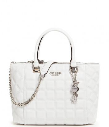 Стеганная сумка GUESS Kamina HWVY8111060 белая