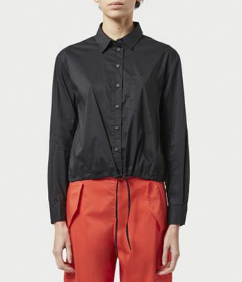 Рубашка LIVIANA CONTI L1SK11 с кулиской черная