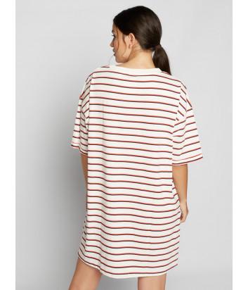 Длинная футболка-платье GISELA 21786 в полоску