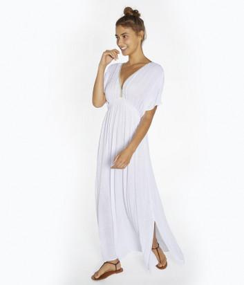 Длинное платье YSABEL MORA Ibicencos 85816 белое