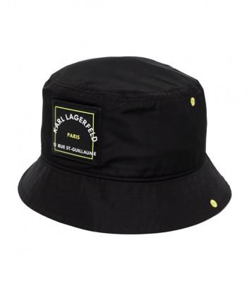 Панама KARL LAGERFELD 215W3411 черная с логотипом