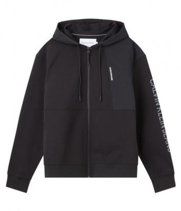 Олимпийка CALVIN KLEIN Jeans J30J318178 черная с логотипом