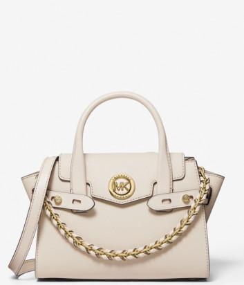 Кожаная сумка MICHAEL KORS Carmen Extra Small 30T0GNMM0L песочная