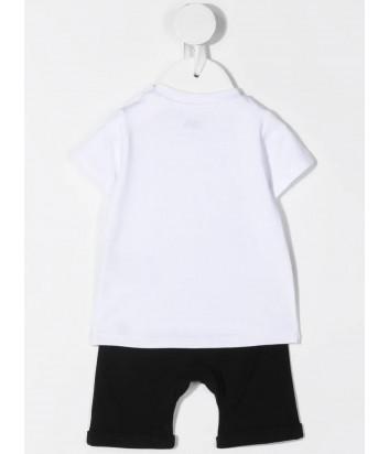 Костюм для мальчиков KARL LAGERFELD Kids Z98076 футболка и шорты