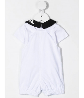 Костюм для девочки KARL LAGERFELD Kids Z98080 комбинезон и футболка с воротником