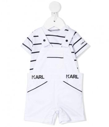 Костюм для мальчиков KARL LAGERFELD Kids Z98083 комбинезон и футболка