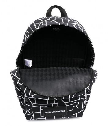 Рюкзак KARL LAGERFELD Kids Z20054 черный с принтом
